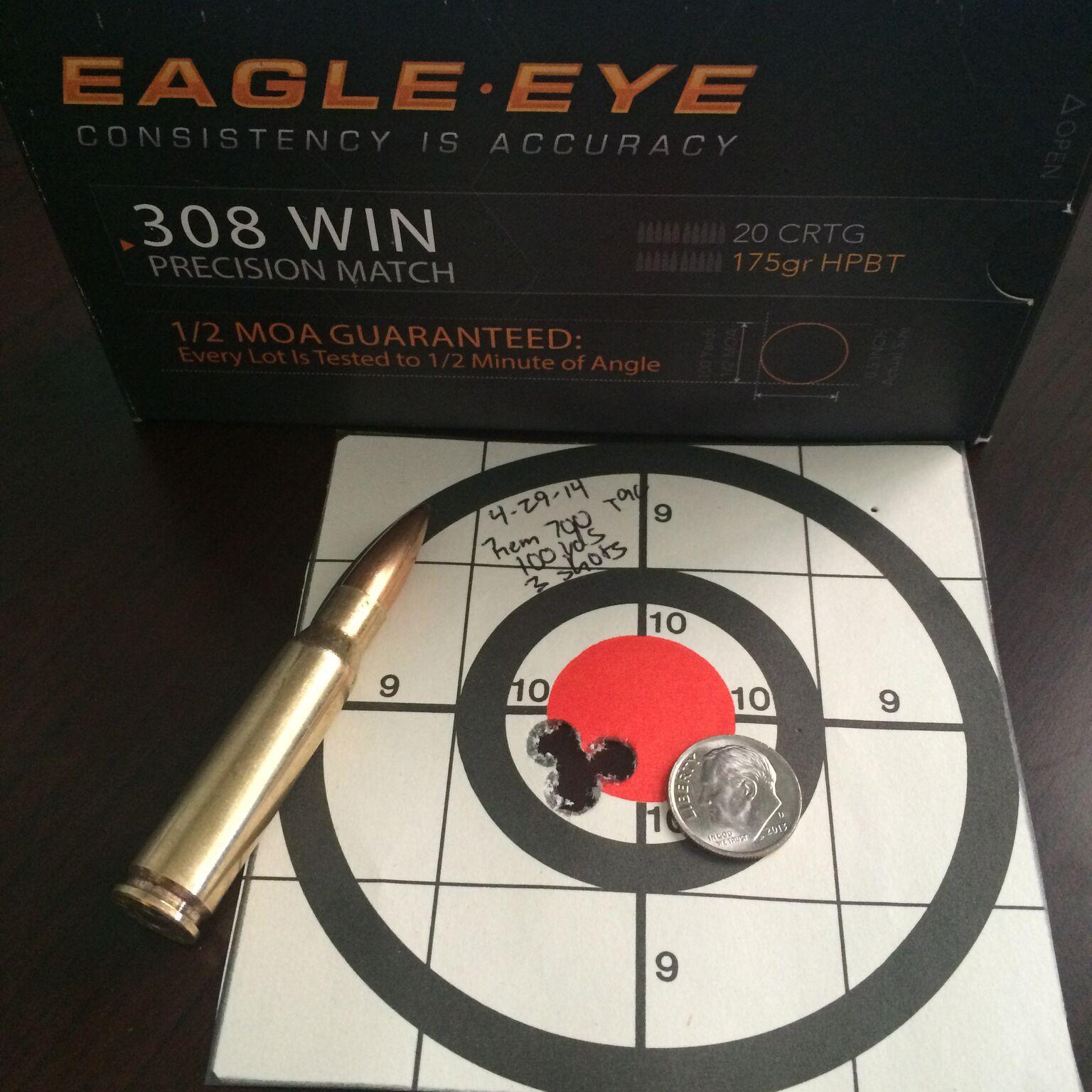 Remington 700 XCR Tactical Accuracy Test - Eagle Eye Ammo